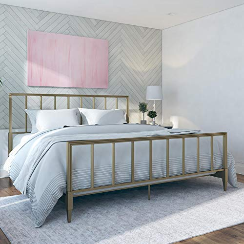 CosmoLiving by Cosmopolitan 4333349CL Blair Bed, Gold ()
