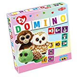 Ty Beanie Boos Domino Board Games (37 Piece), Purple, 8.6'' x 2'' x 8.6''