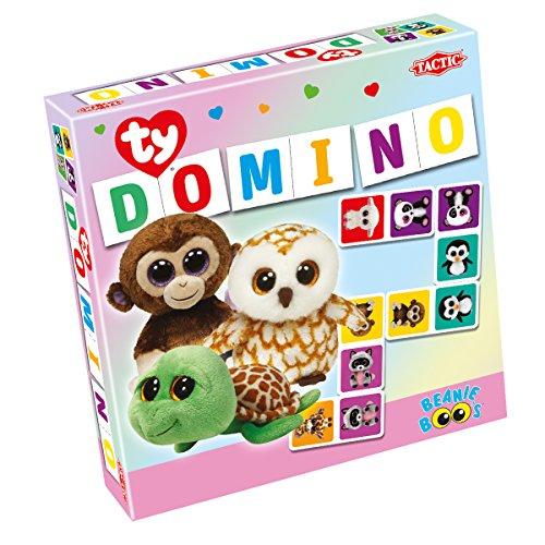 Ty Beanie Boos Domino Board Games (37 Piece), Purple, 8.6'' x 2'' x 8.6'' by Ty
