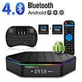 T95Z Plus Android 7.1 TV Box Amlogic S912 Octa Core 3GB/32GB Dual Band WiFi 2.4GHz/5.0GHz 4K HD TV Box with Backlit Mini Wireless Keyboard by LHHY
