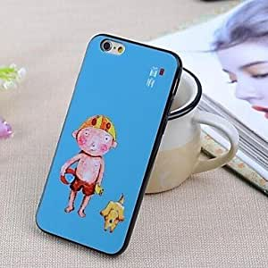 SOL Specially Designed Pattern TPU Cover for iPhone 6
