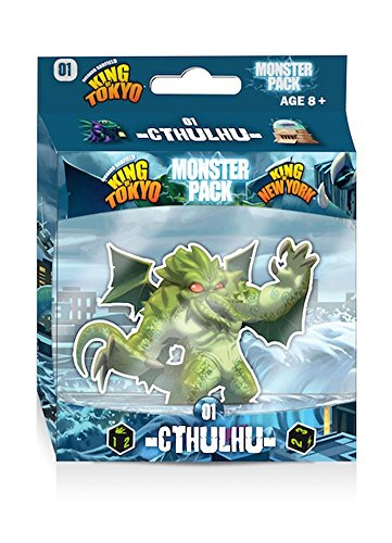IELLO King of Tokyo Cthulhu Monster Game