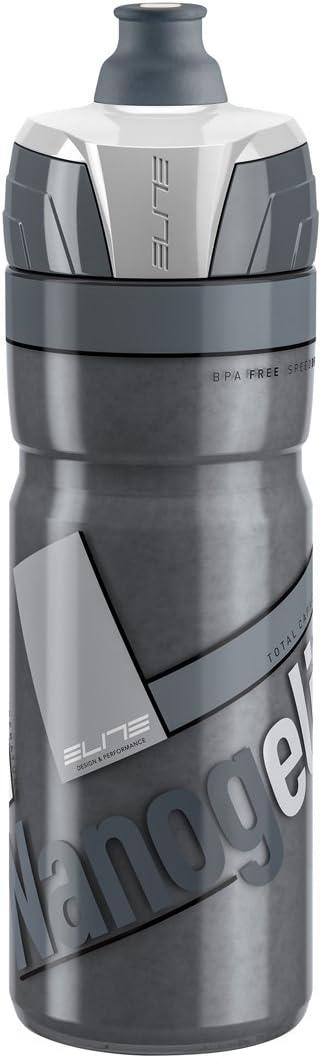 Elite Termo Nanog Bidón, Ahumado, Blanco, 500 ml