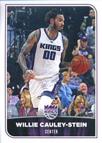 2017-18 Panini NBA Stickers #341 Willie Cauley-Stein Sacramento Kings Basketball Sticker
