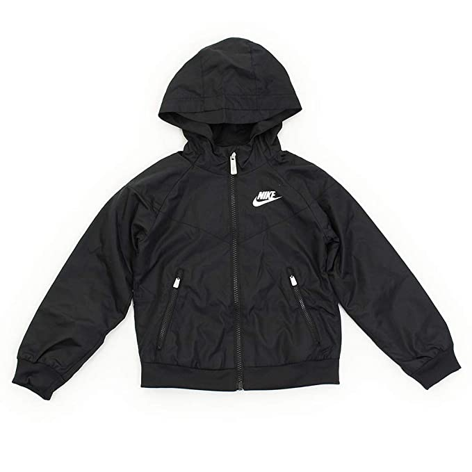 8d11dbd58b47 Image Unavailable. Image not available for. Colour  Nike Boys  Hooded  Windbreaker Jacket ...