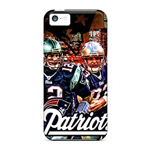 New WSo3619ASCs New England Patriots Skin Case Cover Shatterproof Case For Iphone 5c