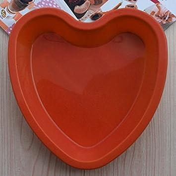Backform Fur Kuchen In Herzform Aus Silikon Herz Rot 20cm X 21cm