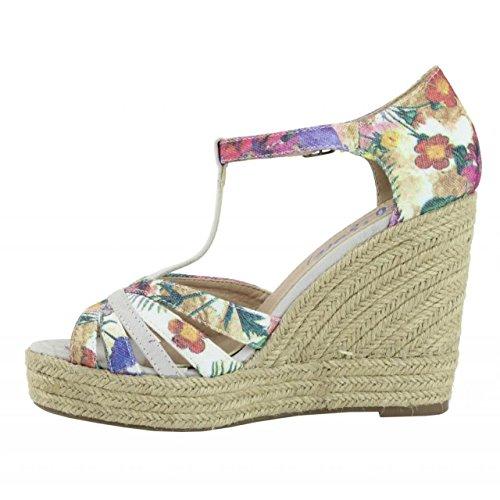 Chaussures compensées pour Femme REFRESH 61805 TEXF BLANCO