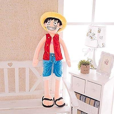 Plush Toy,120cm One Piece Luffy Plush Suffed Toy Doll: Toys & Games