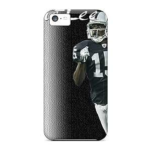 Iphone 5c Kuk1652PXaV Customized High-definition Oakland Raiders Image Shock Absorbent Hard Phone Cover -AaronBlanchette