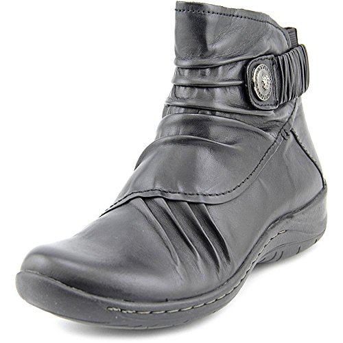Earth Women's Thyme Black Calf Leather Boot 5.5 B (M) (Earth Leather)