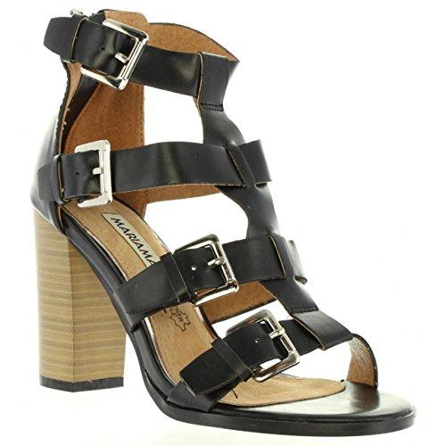 Sandalias de Mujer MARIA MARE 65730 NEGRO