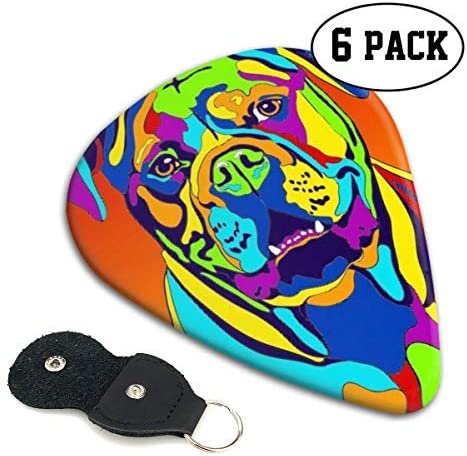[해외]Xzyauza Multi-Color American Bulldog Dog 6 Pack Celluloid Guitar Picks Mandolinand Bass 0.46mm 0.71mm 0.96mm Optional / Xzyauza Multi-Color American Bulldog Dog 6 Pack Celluloid Guitar Picks Mandolin,and Bass 0.46mm, 0.71mm, 0.96mm...