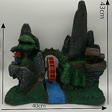 Pet Online Waterwheel decorativos El Acuario El acuario Super Gran ...