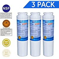 Icepure RWF0900A 3PACK Refrigerator Water Filter...