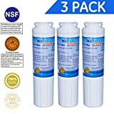 IcePure RFC0900A-3pk Water Filter Replacement Cartridge for Kenmore, Maytag, Amana, Jenn-Air, Whirlpool, Kitchenaid (3 Pack)