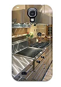 New Cute Funny Kitchen Design For A Gourmet Chef Case Cover/ Galaxy S4 Case Cover