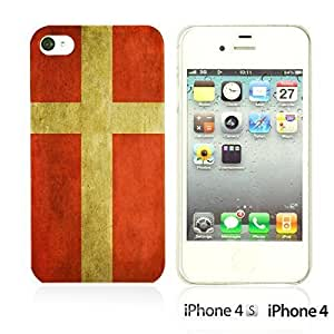 Flag Pattern Hard Back For Iphone 6Plus 5.5Inch Case CoverDenmark