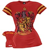 Harry Potter Gryffindor Junior's Red Girls Athletic T-shirt M
