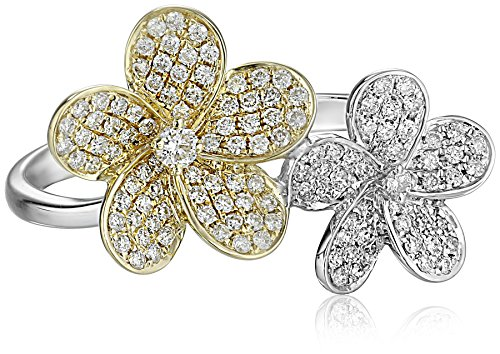 KC-Designs-Blossom-Collection-Diamond-14k-Gold-Double-Flower-Ring