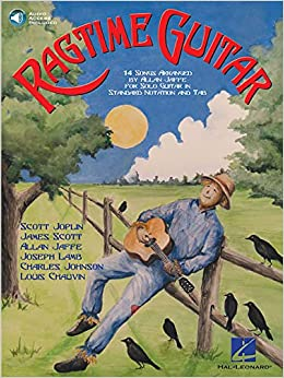 Amazon com: Ragtime Guitar: 14 Songs Arranged for Solo