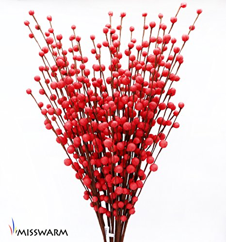 Red Tall Vases - 9