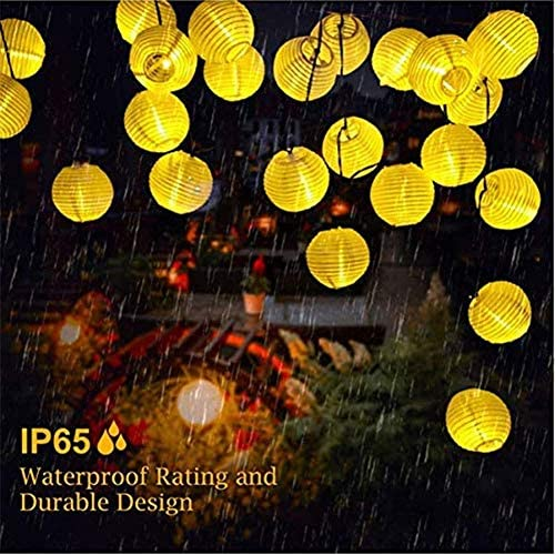 Dpliu garden lights Solar String Lights, 30LED Outdoor Lanterns, Christmas Tree Holiday Decorations, Landscape Garden String Lights (Size : 8PCS)