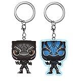 Pocket Pop! Keychain: Black Panther Movie Bundle