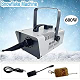 TABODD 600W Christmas Snow Maker 110V Snowflake