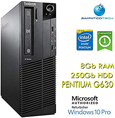 PC Lenovo Thinkcentre M82 Intel Pentium G630 SFF 8 GB 250 GB ...