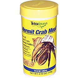 TetraFauna Hermit Crab Meal For All Land Crabs, 4.94-Ounce