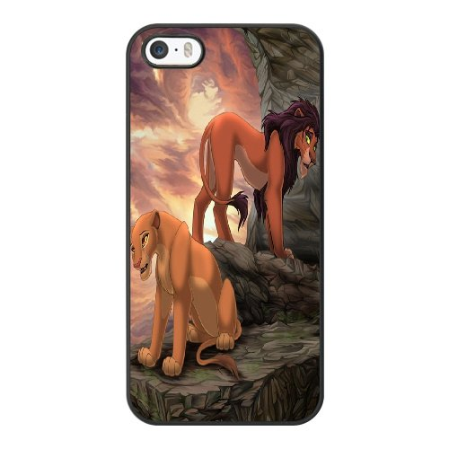 Coque,Coque iphone 5 5S SE Case Coque, The Lion King Cover For Coque iphone 5 5S SE Cell Phone Case Cover Noir