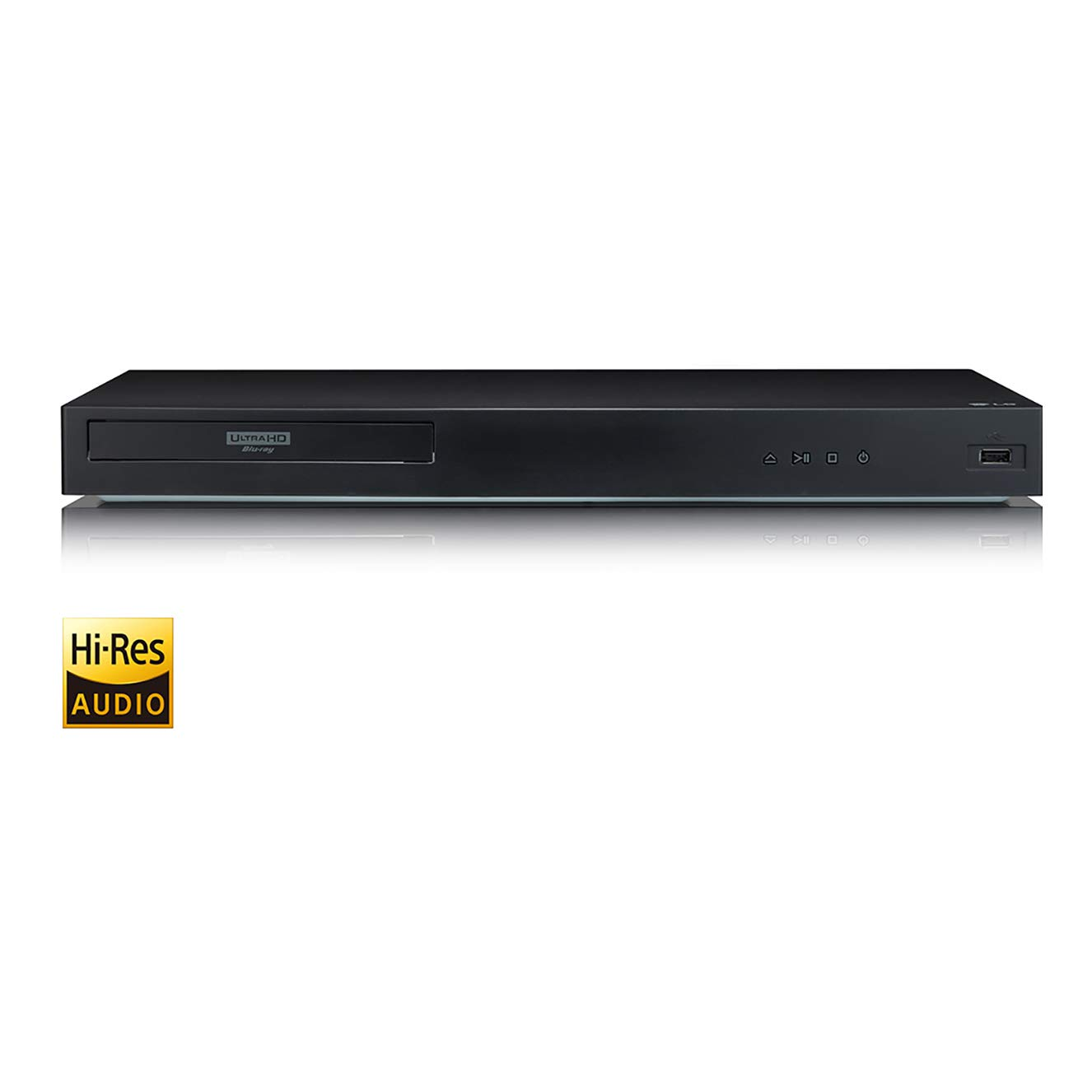 LG UBK80 4K Ultra-HD Blu-ray Player with HDR Compatibility 2018
