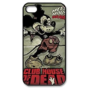 iphone 4 Covers, PC iphone 4s Case, iphone 4g Protector Skin, Mickey Mouse