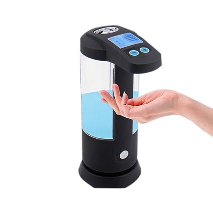 Automático LCD dispensador de jabón Touchless Sensor IR Jabón Líquido Dispensador Shampoo loción siendo visible impermeable
