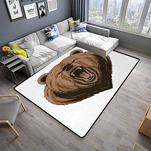 - Bear,Soft Area Rug for Children Baby 36