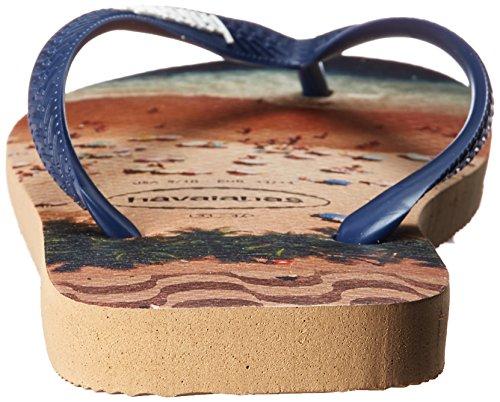 Havaianas Mens Hype Sandaal Rose Goud