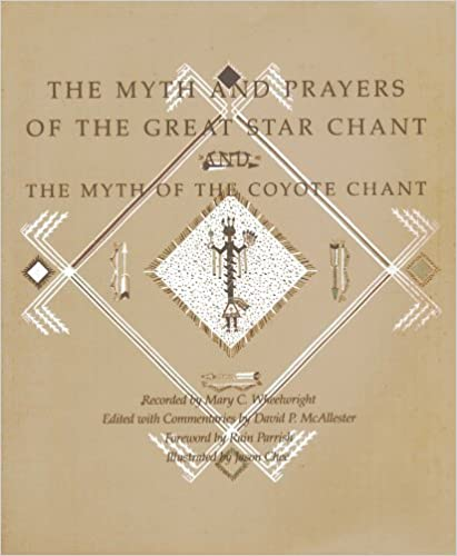 Book The Myth and Prayers of the Great Star Chant, and, The Myth of the Coyote Chant by Mary C. Wheelwright (1988)
