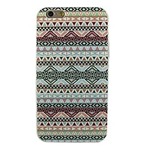 ZXSPACE Colorful Stripe Pattern Soft TPU Case Cover for iPhone 6