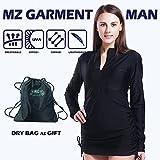 MZ Garment Rash Guard Women - Rashguard Shirt Swimwear Long Sleeve Top Swimsuit UV Dive Skin Swim Shirt