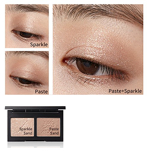 New Jungsaemmool Refining Eyeshadow Double Color - 5 Model (Naked Sand)