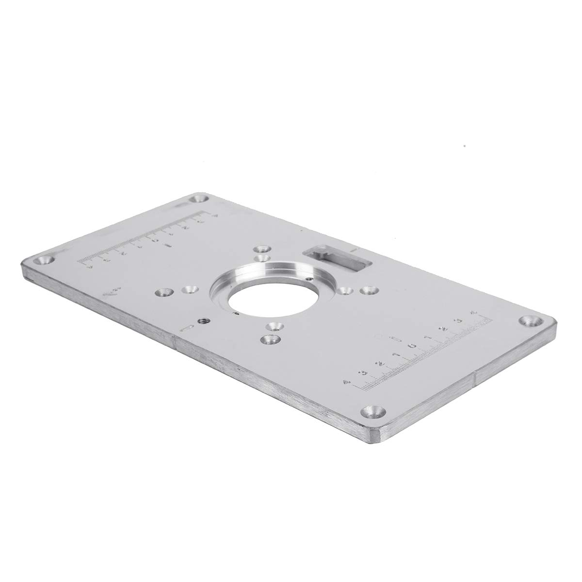 Useful Tools Router Table Insert Plate,Multifunctional Aluminium Alloy Router Table Insert Plate for Makita 700C Woodworking by MAOFU (Image #7)