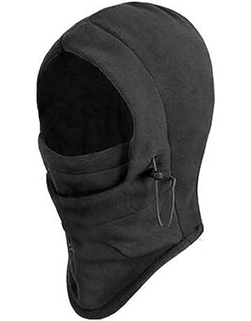 SupplyEU 6 in 1 Thermal Fleece Balaclava Hood Police Swat Ski Bike Wind  Stopper Face Mask f12d0439c2