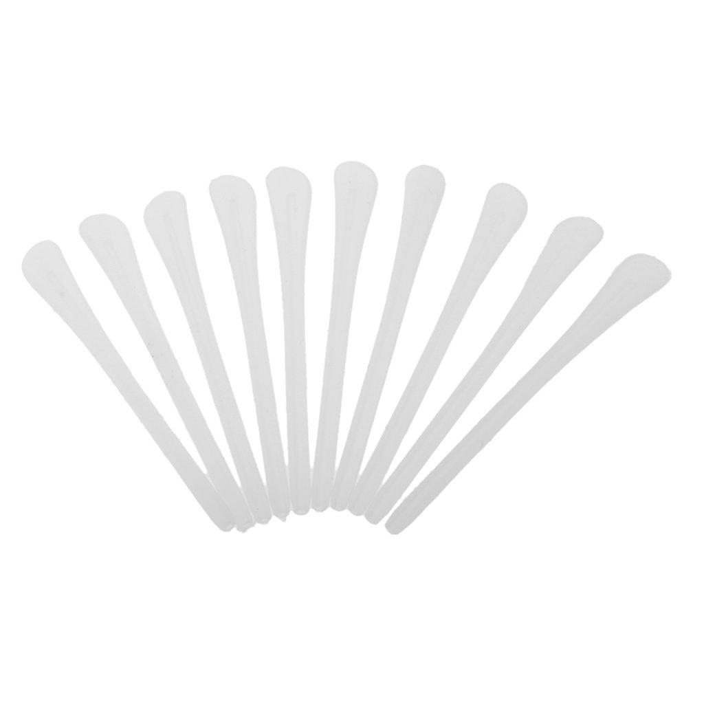 Baoblaze 10 Pedazos Patillas Gafa Silicona Calcetines de Anteojos para Gafas Reparaci/ón Accesorios