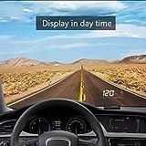Qiilu A200 3.5 Inch Universal Car GPS HUD Head Up