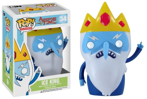 Funko Pop Television  Adventure Time Ice King Vinyl Figure