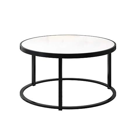 Amazon.com: Mesa de café para salón, plancha forjada, parte ...