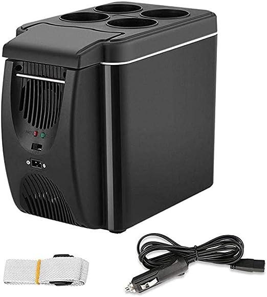 XY-M 12V Mini Refrigerador Congelador Calentador, 6L Mini Coche ...