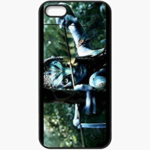 Personalized iPhone 5 5S Cell phone Case/Cover Skin Avatar movie 6 movies Black