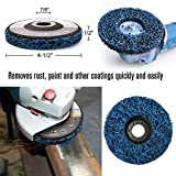 11PCS 4.5 Inch Flap Discs & Grinding Polishing